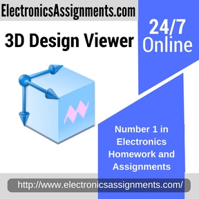 3D Design Viewer Assignment Help