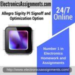 Allegro Sigrity PI Signoff and Optimization Option