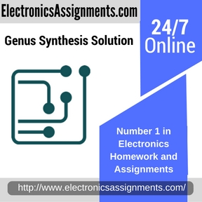 Genus Synthesis Solution Assignment help