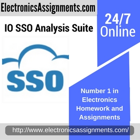 IO SSO Analysis Suite Assignment help