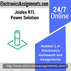 Joules RTL Power Solution Assignment help