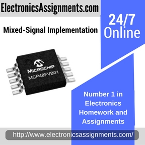 Mixed-Signal Implementation Assignment help