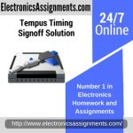 Tempus Timing Signoff Solution